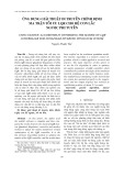 Ứng dụng giải thuật di truyền chỉnh định ma trận tối ưu LQR cho hệ con lắc ngược phi tuyến