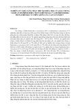 Nghiên cứu khả năng thay thế đạm hóa học của hai chủng vi khuẩn Burkholderia vietnamiensis KG1 và Burkholderia vietnamiensis CT1 trên giống lúa cao sản OM2517