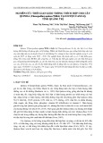 Nghiên cứu thời gian gieo trồng thích hợp cho cây quinoa (Chenopodium quinoa willd.) tại huyện Cam Lộ, tỉnh Quảng Trị