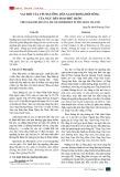 Vai trò tín ngưỡng dân gian trong đời sống của ngư dân đảo Phú Quốc