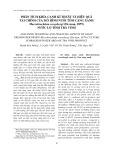 Phân tích khía cạnh kĩ thuật và hiệu quả tài chính của mô hình nuôi tôm càng xanh Macrobrachium rosenbergi (De man, 1879) nước lợ tỉnh Trà Vinh