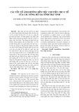 Các yếu tố ảnh hưởng đến việc chi tiêu cho y tế của các nông hộ tại tỉnh Trà Vinh