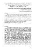 Kiến thức bản địa về loài đảng sâm (Codonopsis javanica (Blume) Hook. F. ) của cộng đồng người cơ tu ở huyện Tây Giang, tỉnh Quảng Nam