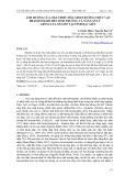 Ảnh hưởng của chất điều hòa sinh trưởng thực vật brassinolide đến sinh trưởng và năng suất giống lúa OM 2517 tại tỉnh Bạc Liêu