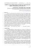 Nghiên cứu xác định giống ngô nếp lai và mật độ gieo trồng thích hợp tại tỉnh Phú Yên