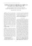 Nghiên cứu tính ăn và phổ thức ăn cá bống cát