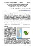 Ứng dụng GIS và viễn thám phân tích mối quan hệ giữa không gian đô thị và mật độ dân số tại thành phố Đà Nẵng giai đoạn 2006 – 2016