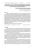 Ảnh hưởng của liều lượng phân chuồng đến sinh trưởng phát triển và năng suất nấm sò (Pleurotus spp.) trồng trên mùn cưa gỗ keo tại Thừa Thiên Huế