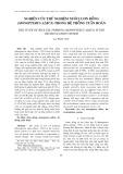 Nghiên cứu thử nghiệm nuôi lươn đồng (Monopterus albus) trong hệ thống tuần hoàn