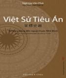 Ebook Việt sử tiêu án: Phần 2 - Rạng Đông