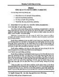 Bài giảng Truyền thông marketing - Chương 1: Tổng quan về truyền thông marketing