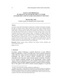 Status and proposals to enhance nuclear security culture at radiation and nuclear facilities in Vietnam