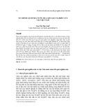 Về chính sách nhà nước mua kết quả nghiên cứu tại Việt Nam