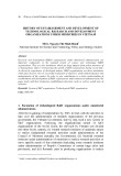 History of establishment and development of technological research and development organizations under ministries in Vietnam