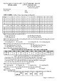 Đề kiểm tra HK 1 môn Địa lí lớp 11 năm 2017-2018 - THPT Lý Thường Kiệt - Mã đề 357