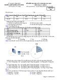 Đề kiểm tra HK 2 môn Địa lí lớp 12 năm 2017-2018 - THPT Phạm Công Bình - Mã đề 628