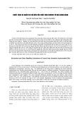 Chiết tách và khảo sát độ bền của chất màu Crocin từ quả dành dành