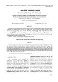 Phân tích độc tố nấm mốc Fumonisin: Bài tổng hợp