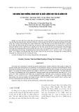 Khả năng sinh trưởng, năng suất và chất lượng thịt của gà Đông Tảo