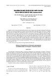 Ảnh hưởng của nhiệt độ đến sự phát triển và dị hình của ấu trùng cá chim vây vàng Trahinotus blochii