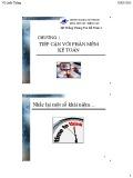 Bài giảng Hệ thống thông tin kế toán 2: Chương 1 - TS. Vũ Quốc Thông