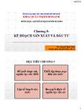 Bài giảng môn học Lập kế hoạch kinh doanh: Chương 5 - ThS. Huỳnh Hạnh Phúc