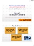 Bài giảng môn học Lập kế hoạch kinh doanh: Chương 7 - ThS. Huỳnh Hạnh Phúc