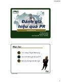 Bài giảng Quan hệ công chúng: Bài 7 - TS. Đinh Tiến Minh
