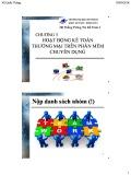 Bài giảng Hệ thống thông tin kế toán 2: Chương 3 - TS. Vũ Quốc Thông