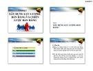 Bài giảng môn học Quản trị bán hàng: Chương 2 - ThS. Huỳnh Hạnh Phúc