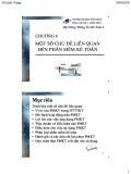 Bài giảng Hệ thống thông tin kế toán 2: Chương 6 - TS. Vũ Quốc Thông