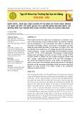 Kiến thức, thái độ, thực hành về vệ sinh an toàn thực phẩm và một số yếu tố liên quan của người kinh doanh thức ăn đường phố tại thành phố Long Xuyên, tỉnh An Giang năm 2014