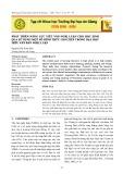 Phát triển năng lực viết văn nghị luận cho học sinh qua sử dụng một số hình thức ghi chép trong dạy đọc hiểu văn bản nghị luận