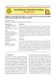 Nghiên cứu độ bền xói mòn của lớp phủ phun plasma nền nhôm bằng phương pháp phun dòng hạt rắn
