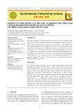 Nghiên cứu ảnh hưởng của đèn Led và Bioreactor chìm ngập cách quãng đến sinh trưởng quang tự dưỡng cây hông (Paulownia fortunei) in vitro