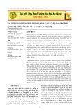 Đặc trưng và khả năng hấp phụ phốt phát của vật liệu FexOy/tro trấu