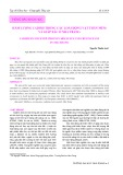 Hàm lượng Cadimi trong các loài động vật thân mềm và giáp xác ở Nha Trang