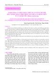 Ảnh hưởng của điều kiện chiết xuất với sự hỗ trợ siêu âm đến hoạt tính chống oxy hóa của dịch chiết từ củ hành tím (Allium ascalonicum)