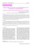 Đánh giá hiệu quả kỹ thuật cho nghề đánh bắt cá ngừ đại dương của tỉnh Khánh Hòa