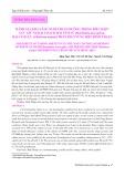 Đánh giá khả năng nuôi thuần dưỡng trong điều kiện lưu giữ ngoại vi loài hải sâm vú (Holothuria fuscogilva), hải sâm lựu (Thelenota ananas) phân bố ở vùng biển Bình Thuận
