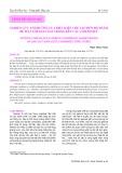 Nghiên cứu ảnh hưởng của điều kiện chế tạo đến độ nhám bề mặt lớp gelcoat trong kết cấu composite
