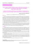 Thực trạng nghề lưới rê cố định tầng đáy khai thác cá tại gò nổi và vùng rạn đá dốc thềm lục địa biển miền Trung Việt Nam