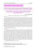 Đánh giá thực trạng lượng thuốc trừ sâu, phân bón của rau trên địa bàn tỉnh Khánh Hòa và biện pháp hạn chế