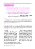 Đánh giá hiệu quả sử dụng enzyme viscozyme L thay thế hóa chất trong sản xuất carrageenan từ rong sụn Kappaphycus alvarezii (Doty) Doty