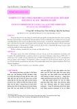 Nghiên cứu thủy phân moi biển (Acetes sp) bằng hỗn hợp Enzym alcalase - Bromelin thô