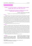Nghiên cứu sản xuất giống cá chuối hoa (Channa Maculata Lacépède, 1802) trong điều kiện nhân tạo