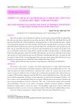 Nghiên cứu đề xuất giải pháp quản lý khai thác thủy sản tại đầm Thủy Triều, Khánh Hòa