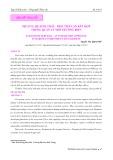 Dịch vụ hệ sinh thái - Một tiếp cận kết hợp trong quản lý môi trường biển