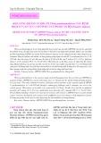 Khả năng kháng vi khuẩn Vibrio parahaemolyticus gây bệnh hoại tử gan tụy cấp tính của tôm he Ấn Độ (Penaeus indicus)