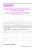 Ứng dụng xếp hạng tín nhiệm để đánh giá, xếp loại các doanh nghiệp: Nghiên cứu tại Công ty Cổ phần Tư vấn Xây dựng Điện 4, tỉnh Khánh Hòa